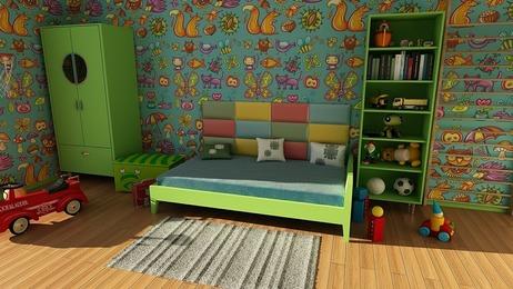 Pokój dziecięcy -  jak urządzić, inspiracje