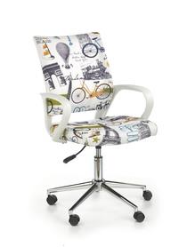 Fotel młodzieżowy Ibis paris wielobarwny tkanina Halmar
