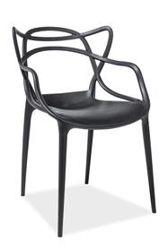 Krzesło toby czerń tworzywo pp signal