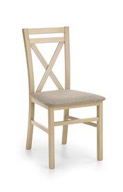 Krzesło drewniane dariusz dąb sonoma halmar