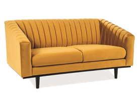 Sofa Asprey tkanina velvet curry signal