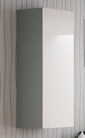 Szafka s-120 wisząca biało-szara z systemu livo halmar