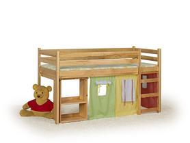 Emi łóżko piętrowe-olcha halmar