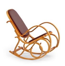 Fotel bujany max bis plus olcha eco skóra/drewno halmar