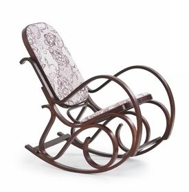 Fotel bujany max 2 bis orzech tkanina/ drewno halmar