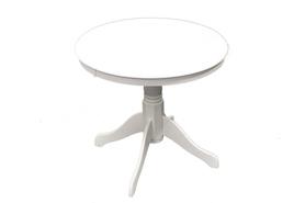 Stół Windsor fi100 biały mdf/drewno Signal
