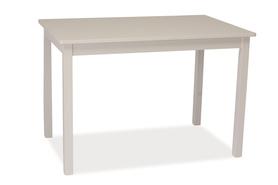 Drewniany stół Fiord 110x70 biały mdf Signal