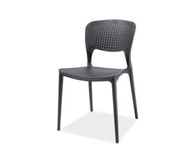 Krzesło axo czarne tworzywo signal