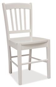 Krzesło CD-57 białe drewno/mdf signal