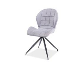 Krzesło hals ii jasny szary materiał/metal signal