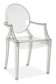 Krzesło luis transparentne/poliwęglan signal