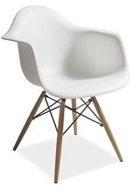 Krzesło mondi białe/buk tworzywo/drewno signal