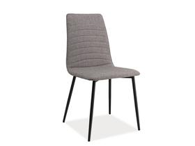 Krzesło tomas szare tkanina/metal signal