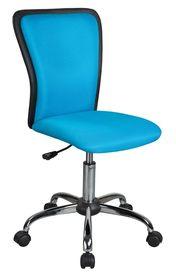 Fotel obrotowy q-099 niebieska tkanina signal