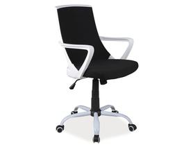 Fotel obrotowy q-248 czarna tkanina signal
