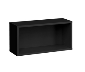Półka/regał wiszący poziomy blox rw11 czarny