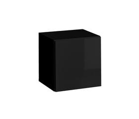 Półka/regał wiszący otwierany blox sw20 czarny