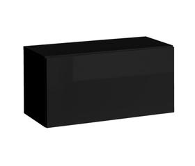 Półka/regał wiszący otwierany poziomy blox sw21 czarny