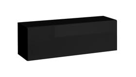 Półka/regał wiszący otwierany poziomy blox sw22 czarny