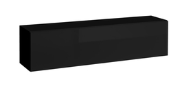 Półka/regał wiszący otwierany poziomy blox sw23 czarny