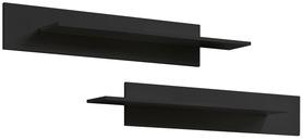 Półki wiszące fly czarne