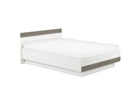 Łóżko blanco 31 sosna śnieżna + szary ml meble