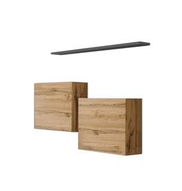 Komoda wisząca z półką switch sb i wotan/grafit