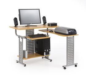 Nowoczesne biurko komputerowe b-1 olcha halmar