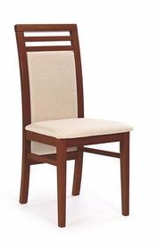 Krzesło sylwek 4 czereśnia an.tkanina/drewno halmar