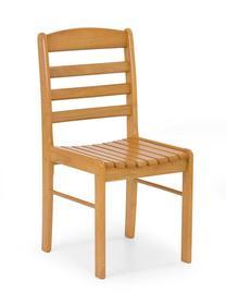 Krzesło Bruce olcha złota drewno lite Halmar