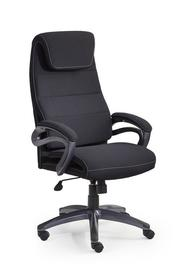 Fotel obrotowy Sidney czarny tkanina Halmar