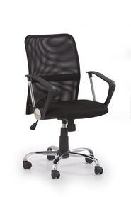 Fotel obrotowy tony czarna tkanina/siatka halmar