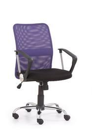 Fotel obrotowy tony fioletowa tkanina/siatka halmar