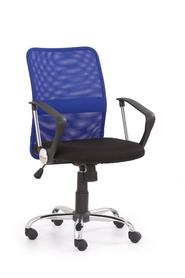 Fotel obrotowy tony niebieska tkanina/siatka halmar