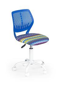 Fotel obrotowy bali niebieski halmar