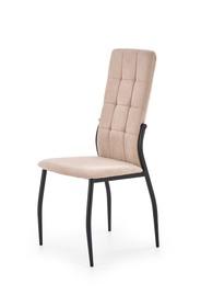 Krzesło K-334 beż tkanina/stal Halmar
