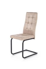 Krzesło K-310 beż ekoskóra/stal Halmar