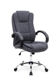 Fotel gabinetowy Relax 2 ciemny popiel tkanina Halmar