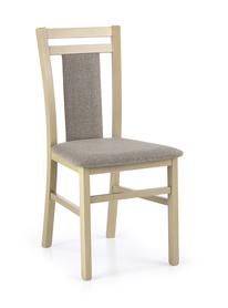 Krzesło hubert 8 dąb sonoma tkanina/drewno halmar