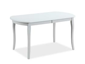 Rozkładany stół Alicante 120(159)x80 biały mdf/drewno Signal
