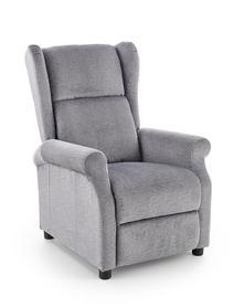 Fotel wypoczynkowy Agustin tkanina popiel halmar