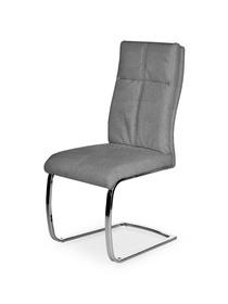 Krzesło K-345 popiel tkanina/chrom Halmar