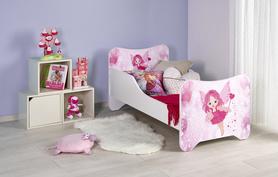 Happy fairy łóżko biało-różowe halmar