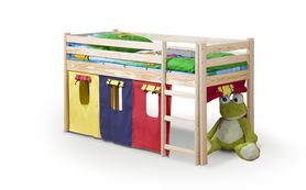 Neo łóżko piętrowe z materacem sosna halmar