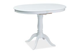 Rozkładany stół Dello 100(129)x70 biel mdf/drewno Signal
