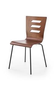 Krzesło K-355 orzech stal/sklejka Halmar