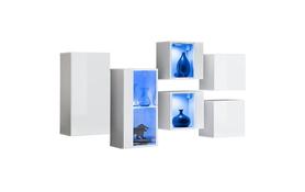 Komoda wisząca Switch SB IV biały mat/połysk + LED
