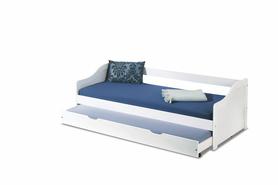 Leonie łóżko białe halmar