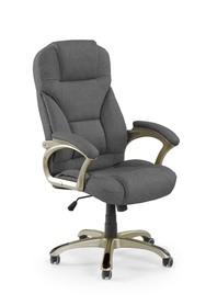 Fotel gabinetowy Desmond 2 ciemny popiel tkanina Halmar