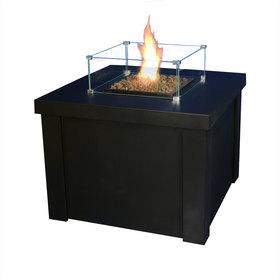 Kominek ogrodowy / gazowy Klimat 1 czarny